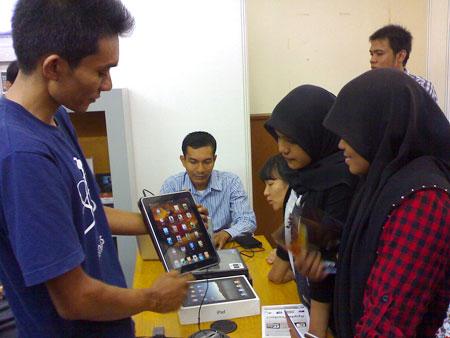 IT Expo PAmer iPad