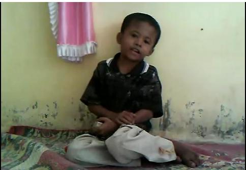Bocah Laweung Lantunkan Hikayat Aceh