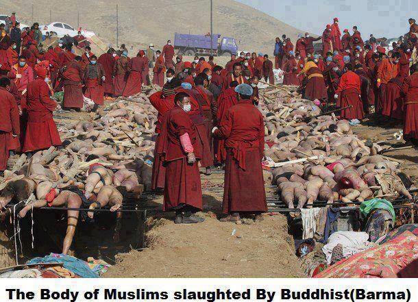 Inilah Gambar-gambar Hoax Pembantaian Muslim di Myanmar