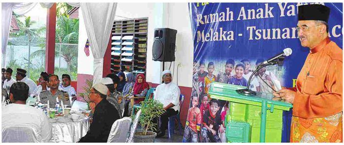 Kerajaan Melaka Jalin Kerjasama dengan Aceh