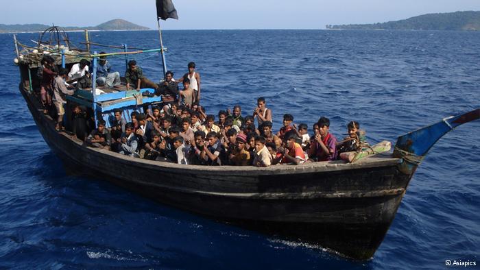 Muslim Rohingya (Foto dw.de)