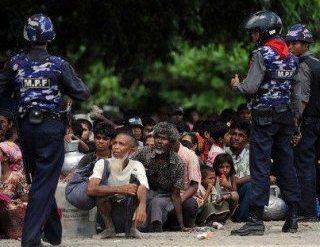 Muslim Rohingya Diperlakukan Semena-mena oleh Militer Myanmar