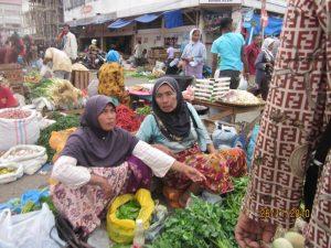 Pasar tradisional di Peunayong, Banda Aceh (Ist)