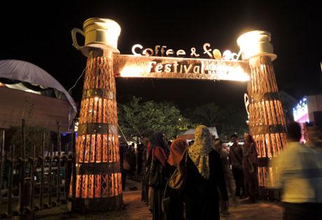 aceh coffee food festival 2012 x