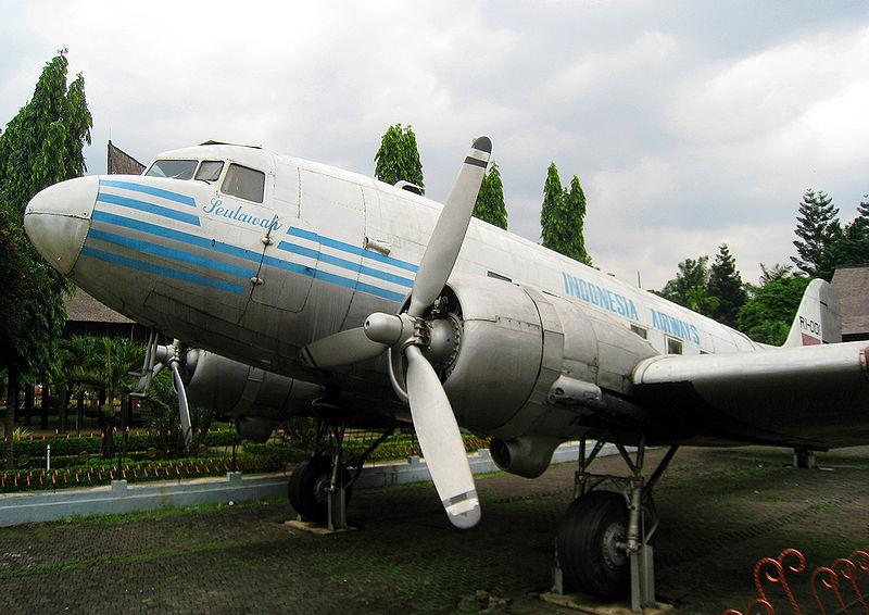 Seulawah Indonesia Airways di Anjungan Taman Mini Indonesia Indah, Jakarta (Ist)