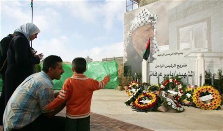 Ahli dari Palestina Gali Makam Yasser Arafat
