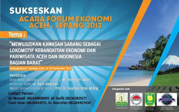 Dubes Jepang Dipastikan Hadiri Forum Ekonomi Aceh