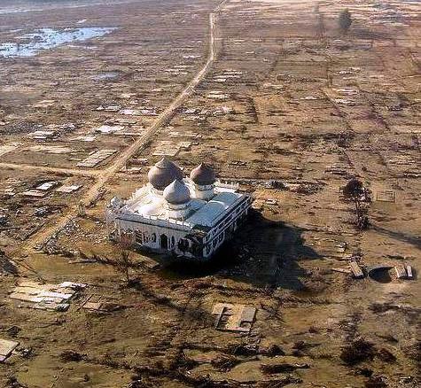 """Rahmatullah, """"Masjid Ajaib"""" di Aceh"""