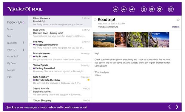 New YMail (zdnet.com)