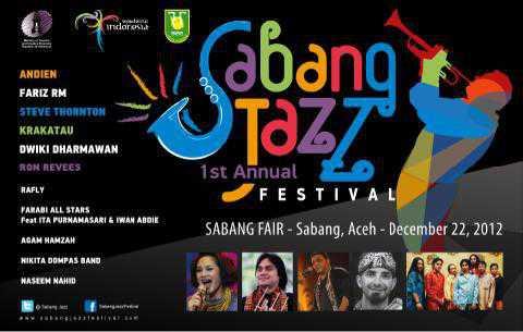 Ada Sabang Jazz Festival 22 Desember Mendatang