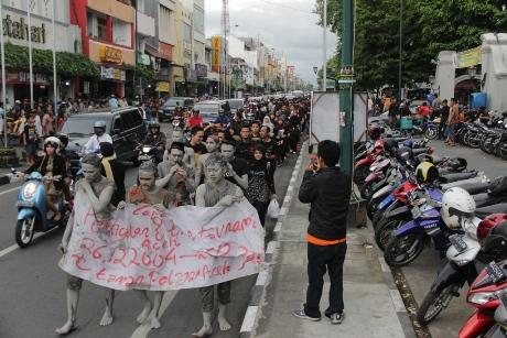 TPA Peringati 8 Tahun Tsunami dengan berjalan kaki (Foto Dok Panitia)