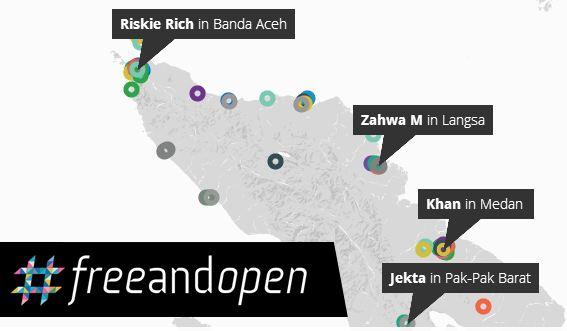 #freeandopen Internet di mata netizen Aceh (Ist)