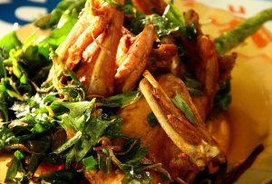 Ayam Goreng Kaki Panjang (Foto Pozan Matang)