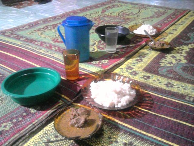 Seporsi sie itek Gampong Turam dengan cita rasa khas Aceh Besar (Foto Aulia Fitri)