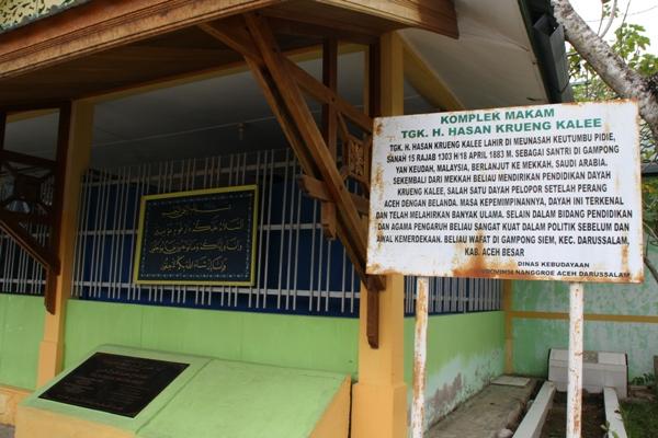 Makam Tgk Hasan Krueng Kalee (Foto Aulia Fitri)
