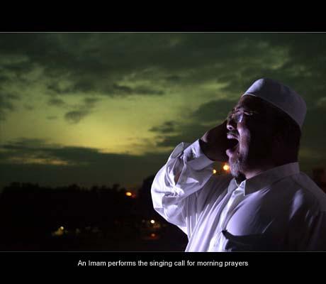 Wak Leh Azdan di Masjid