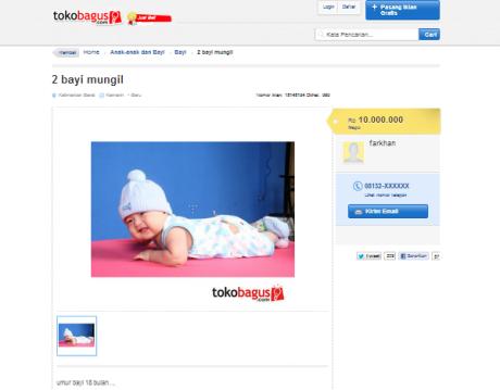 Kasus: Jual Beli Bayi Online?
