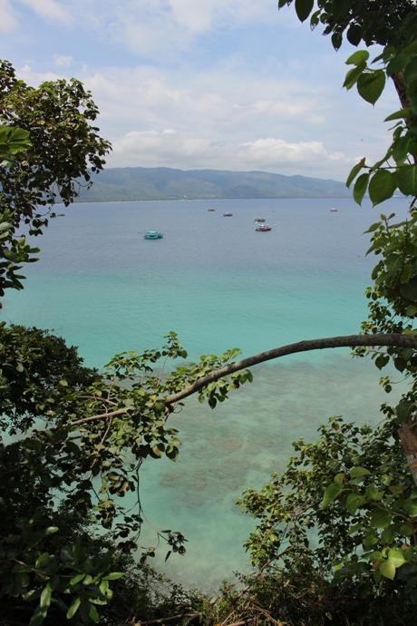 Pemandangan dari Benteng Inong Balee (Foto M Iqbal)