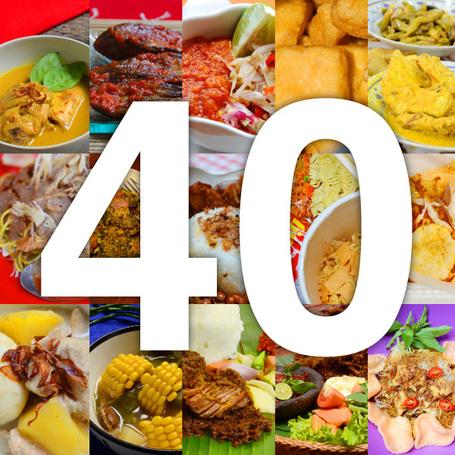 40 Makanan Terbaik Indonesia versi CNNGo