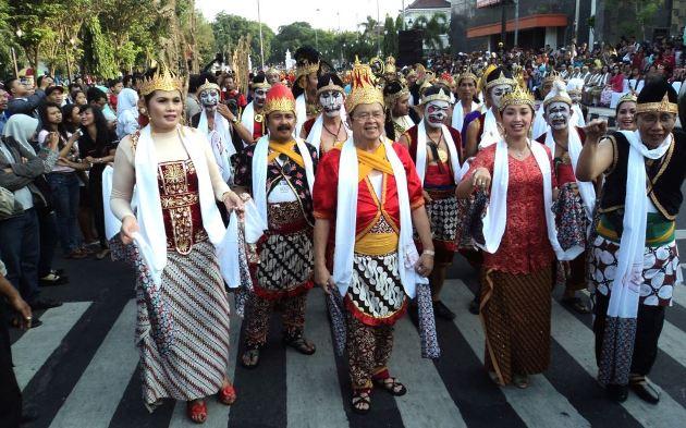 Hari Tari Sedunia (Foto Yudha Satriawan/VOA)