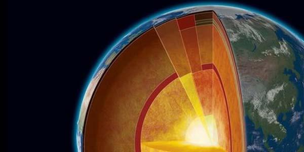 Ilustrasi inti bumi (inilah.com)