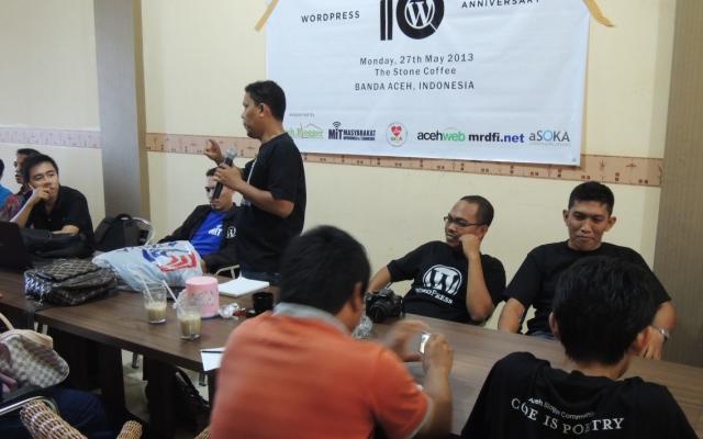 WP 10th Anniversary di Banda Aceh (Foto Pozan Matang)