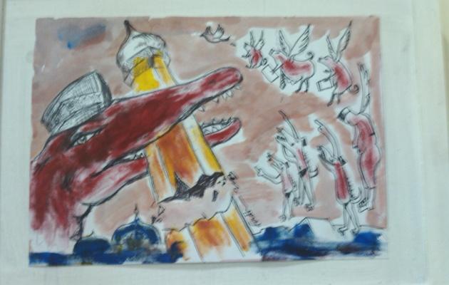 Salah satu karya tangan di Balee Seni-3 (Ist)