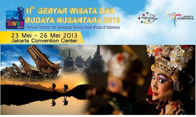 Gebyar Wisata dan Budaya Nusantara 2013