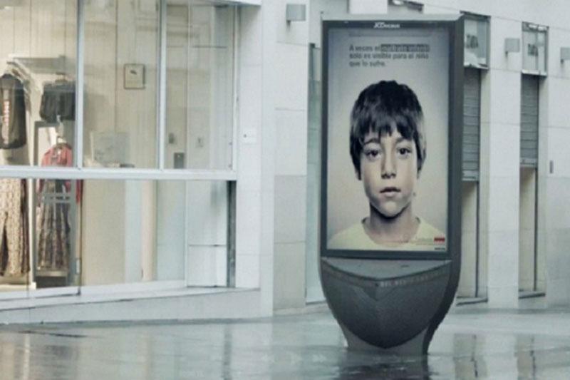 iklan kekerasan anak ini menyampaikan-pesan rahasia khusus buat si anak