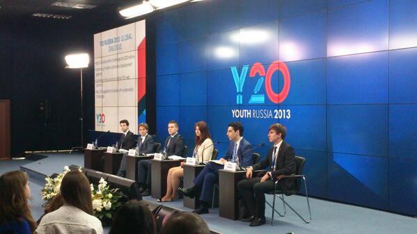 Suasana Sidang G20 Youth Summit (Ist)