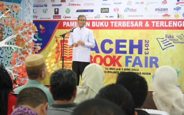 Pembukaan Aceh Book Fair 2013 (Pozan Matang/SeputarAceh.com)
