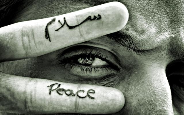 ilustrasi salam-peace