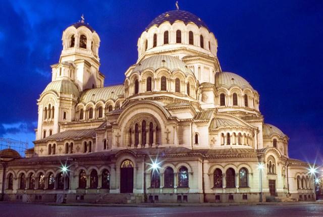 Salah satu sudut kota Sofia di Bulgaria (boho-weddings.com)