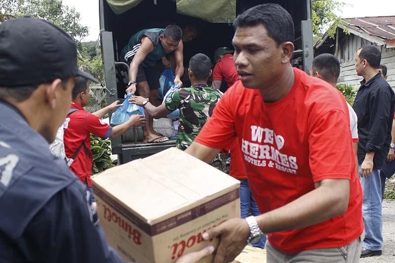 Hermes Peduli Salurkan Bantuan 'Charity For Gayo'