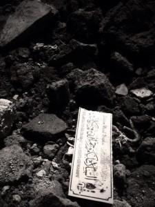 Salah satu kondisi di reruntuhan rumah ibadah (Foto Twitter @IndieGem)