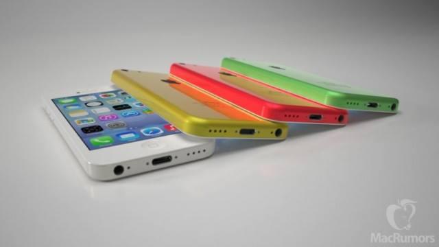 Contoh varian warna yang akan tersedia untuk iPhone Light