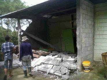 Gayo di Ayun Gempa 6.2 SR, Banyak Bangunan Hancur