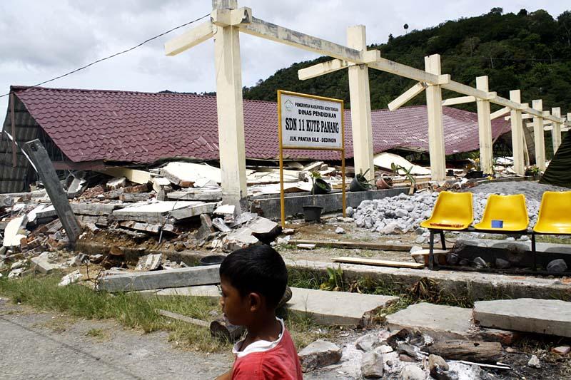 Hancur Akibat Gempa
