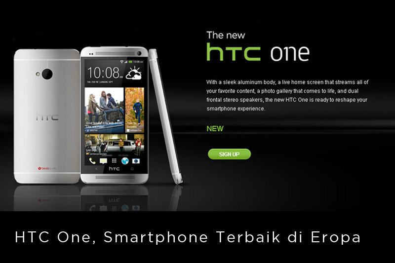 HTC One Smartphone Terbaik di Eropa