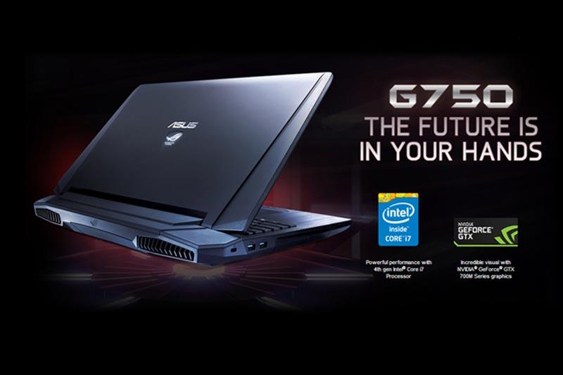 ASUS Hadirkan G750, Notebook Gamers Berbasis Intel Haswell