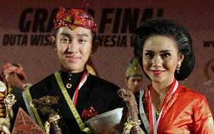 Duta Wisata Indonesia 2013 (Foto Irwansyah Putra/Antara)
