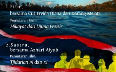 Besok, Ada Kuliah Umum dan Diskusi Publik tentang Film dan Sastra