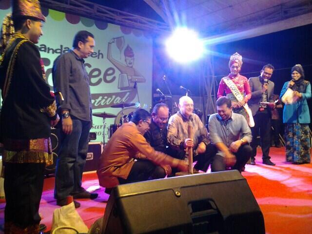 Pembukaan Banda Aceh Coffee Festival 2013 (Foto M Antonio Gayo)