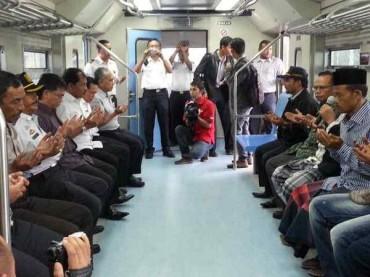 Kereta Api Aceh Mulai Terealisasi