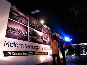 Malam Renungan 9 Tahun Tsunami