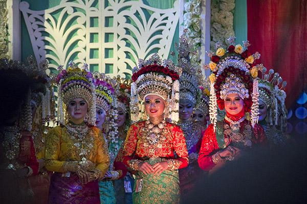 Para finalis Inong Banda Aceh 2014 (Foto M Iqbal/SeputarAceh.com)