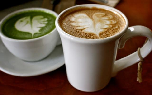 Minuman Matcha Latte (terinaandtim.blogspot.com)