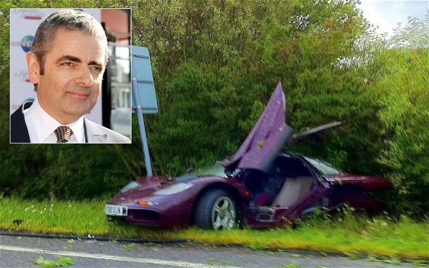 Aksi 'Mr Bean' Selamatkan Korban Tabrakan McLaren F1