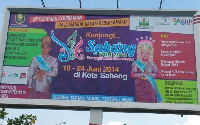 Sabang Fair Bandara SIM