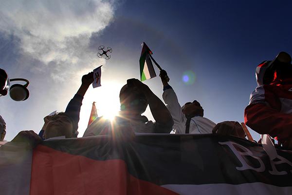 Foto Ribuan Warga Banda Aceh Gelar Aksi Peduli Palestina
